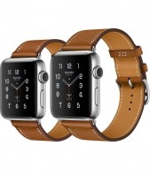 Apple Watch Series 2 Hermes 42mm Simple Tour Fauve из нержавеющей стали
