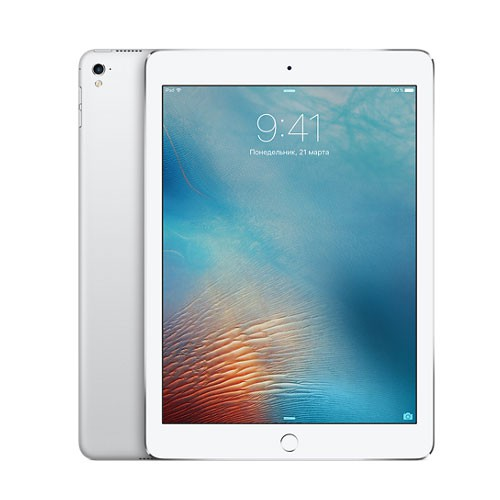 iPad Pro 9,7 дюйма 128GB Wi-Fi + Cellular Silver / Серебристый