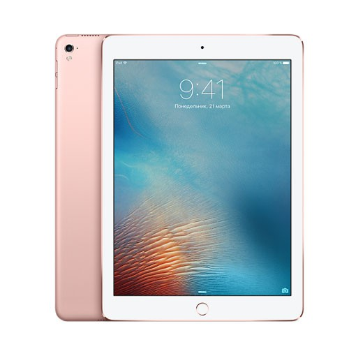 iPad Pro 9,7 дюйма 128GB Wi-Fi + Cellular Rose Gold / Розовый