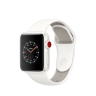 Apple Watch Edition Series 3 38mm White Ceramic Case with Soft White/Pebble Sport Band