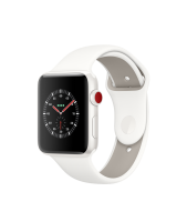 Apple Watch Edition Series 3 42mm, спортивный ремешок белого цвета