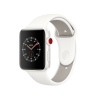 Apple Watch Edition Series 3 42mm White Ceramic Case with Soft White/Pebble Sport Band