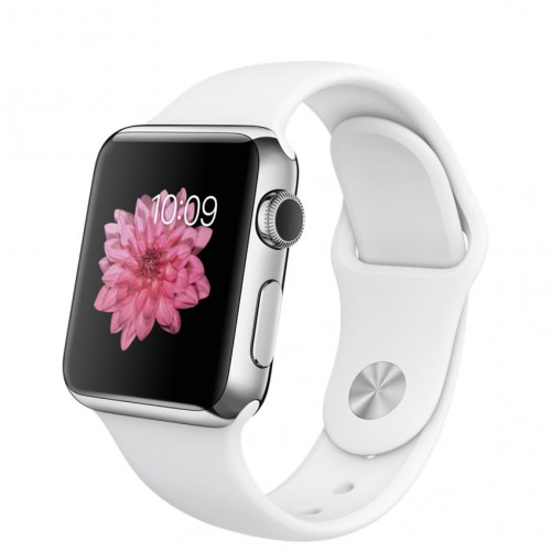 Apple Watch 38mm with Sport Band White / Белый MJ302