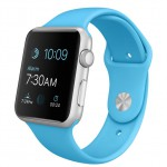 Apple Watch Sport 42mm with sport band blue / Голубой MLC52
