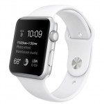 Apple Watch Sport 42mm with sport band white / Белый MJ3N2