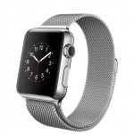 Apple Watch 38mm with Milanese Loop / Миланский сетчатый браслет MJ322