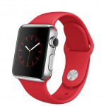 Apple Watch 38mm with Sport Band RED / Красный MLLD2