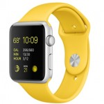 Apple Watch Sport 42mm with Yellow Sport Band / Желтый MMFE2