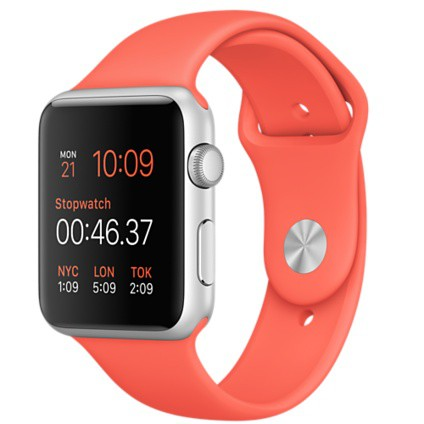 Apple Watch Sport 42mm with Apricot Sport Band / Абрикосовый MMFL2