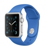 Apple Watch Sport 38mm with Royal Blue Sport Band / Синий MMF22