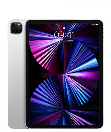 Apple iPad Pro 11 (2021 M1) 128GB Wi-Fi Silver (Серебристый)