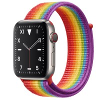 Apple Watch Edition Series 5 Titanium, 44 мм Cellular + GPS, цвет радуги