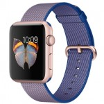 Apple Watch Sport 42mm with Plaited Nylon Blue / Синий плетеный нейлон MMFP2