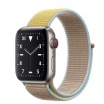 Apple Watch Edition Series 5 Titanium, 40 мм Cellular + GPS, браслет кэмел