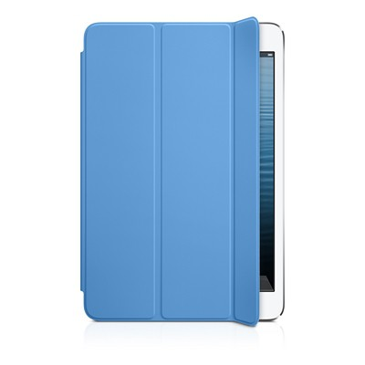 Чехол Apple для iPad mini Retina/ mini полиуретановый синий - iPad mini Smart Cover - Polyurethane - Blue MD970