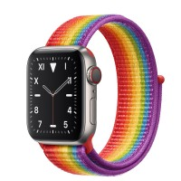 Apple Watch Edition Series 5 Titanium, 40 мм Cellular + GPS, цвет радуги
