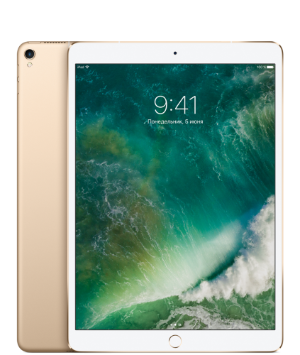 "Apple iPad Pro 10,5"" 64GB Wi-Fi + Cellular Gold (Золотой)"