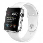 Apple Watch 42mm with Sport Band White / Белый MJ3V2