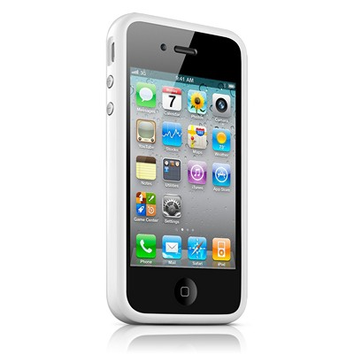 iPhone 4s Bumper белый