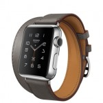 Apple Watch Hermes Double Tour Etain 38mm (Темно-коричневый)