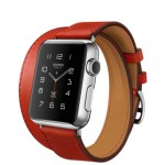 Apple Watch Hermes Double Tour Capucine 38mm (Красный)