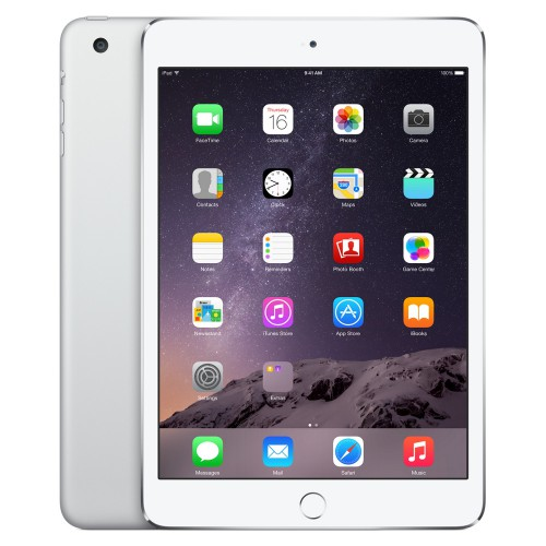 Apple iPad mini 3 Wi-Fi + Cellular Silver 64GB