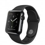 Apple Watch 38mm with Sport Band Space Black / Черный MLCK2