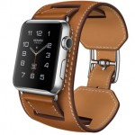 Apple Watch Hermes Manchette Fauve 42mm (Коричневый)