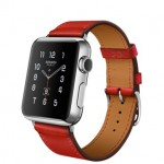 Apple Watch Hermes Simple Tour Capucine 38mm (Красный)