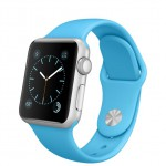 Apple Watch Sport 38mm with sport band blue / Голубой MLCG2