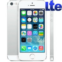 Apple iPhone 5S 16GB Silver White | Белый. LTE
