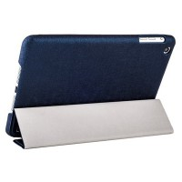 Чехол HOCO для iPad mini Retina/ mini – HOCO Star Series Leather Case Purplish Blue