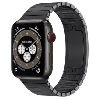 Apple Watch Edition Series 6 Titanium Space Black 44mm с блочным браслетом