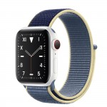 Apple Watch Edition Series 5 Ceramic, 40 мм Cellular + GPS, синий браслет