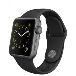 Apple Watch Sport 38mm with sport band Black / Черный MJ2X2
